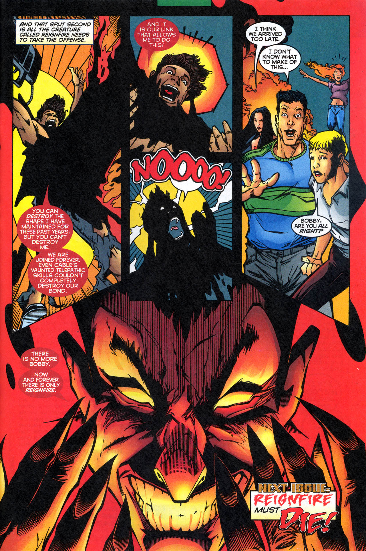 Read online X-Force (1991) comic -  Issue #79 - 33