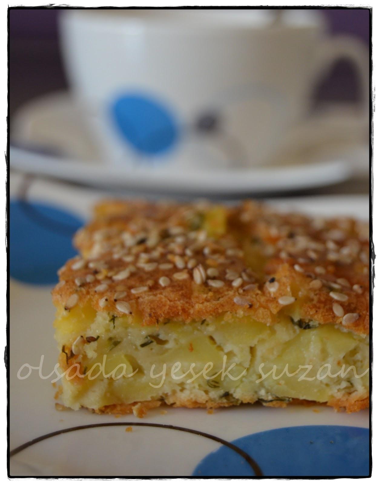 Patatesli Kek