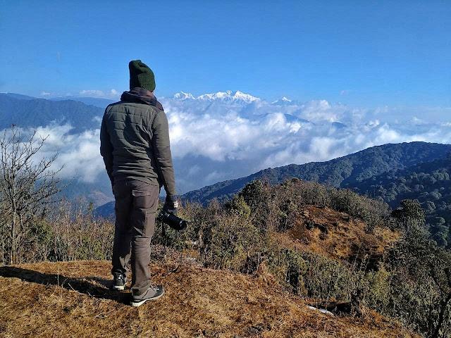 Kanchenjunga range from Tumling Singalila National Park
