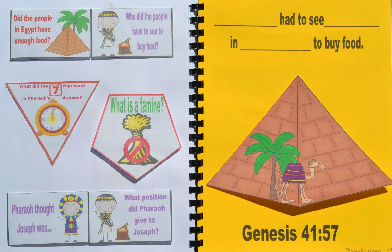 Bible Fun For Kids Genesis Joseph In Prison Amp Pharaoh S Dreams Including The Butler And The