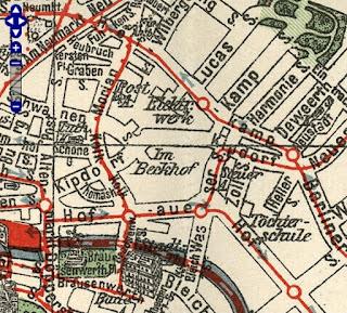 Stadtplan Wuppertal-Elberfeld 1903