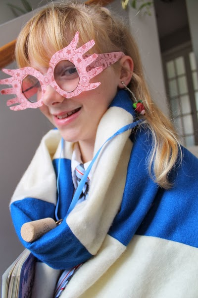 picture about Luna Lovegood Glasses Printable identify Harry Potter Do-it-yourself Luna Lovegood Gown (An simple how towards