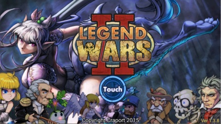 Game Strategi Offline Android Legend Wars 2 MOD APK