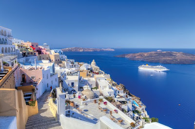 Geografi Pulau Santorini Yunani