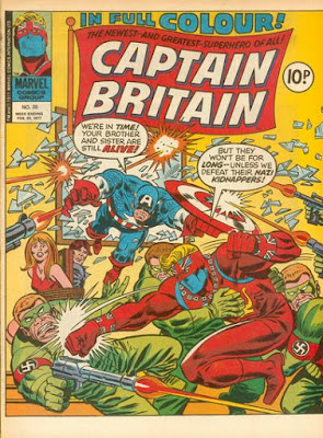 Marvel UK, Captain Britain #20, Captain America