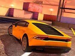 Lamborghini Kayıdrma - Lamborghini Drift Simulator