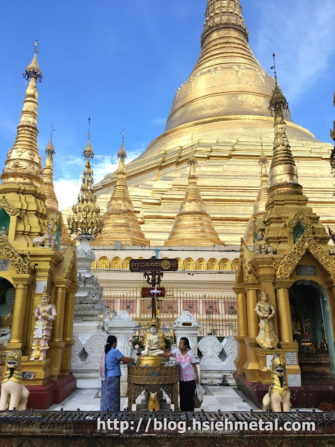 Find Birthday Shrine in Shwedagon Pagoda