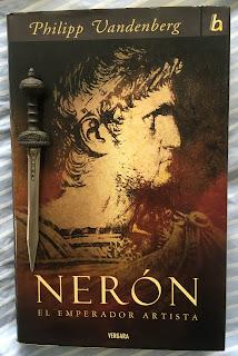 Portada del libro Nerón, de Philipp Vandenberg