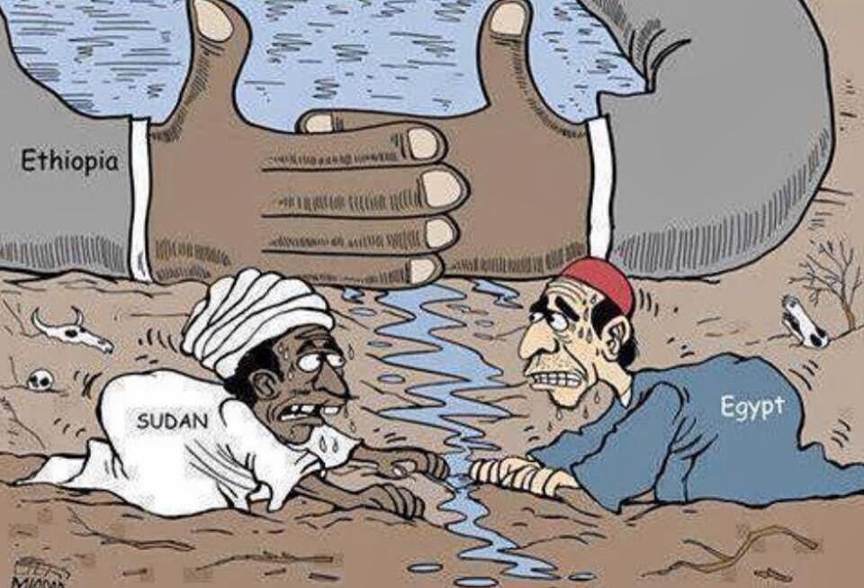 سد أثيوبيا سوف يمنع المياه عن مصر