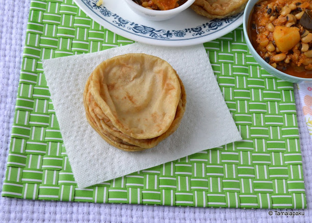 Ratala Puri ~ Sweet Potato Puri