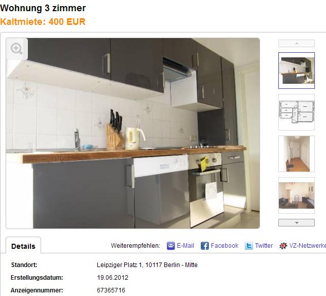 Wohnung Berlin Ebay