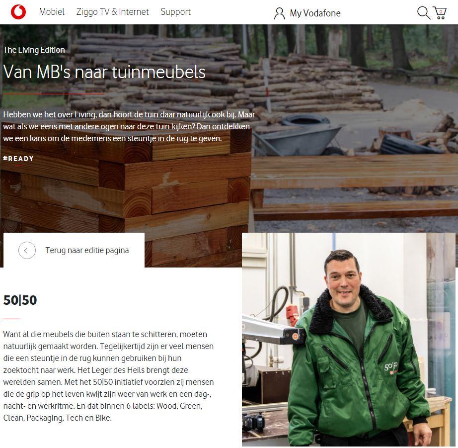 fotografie vodafone newsletter