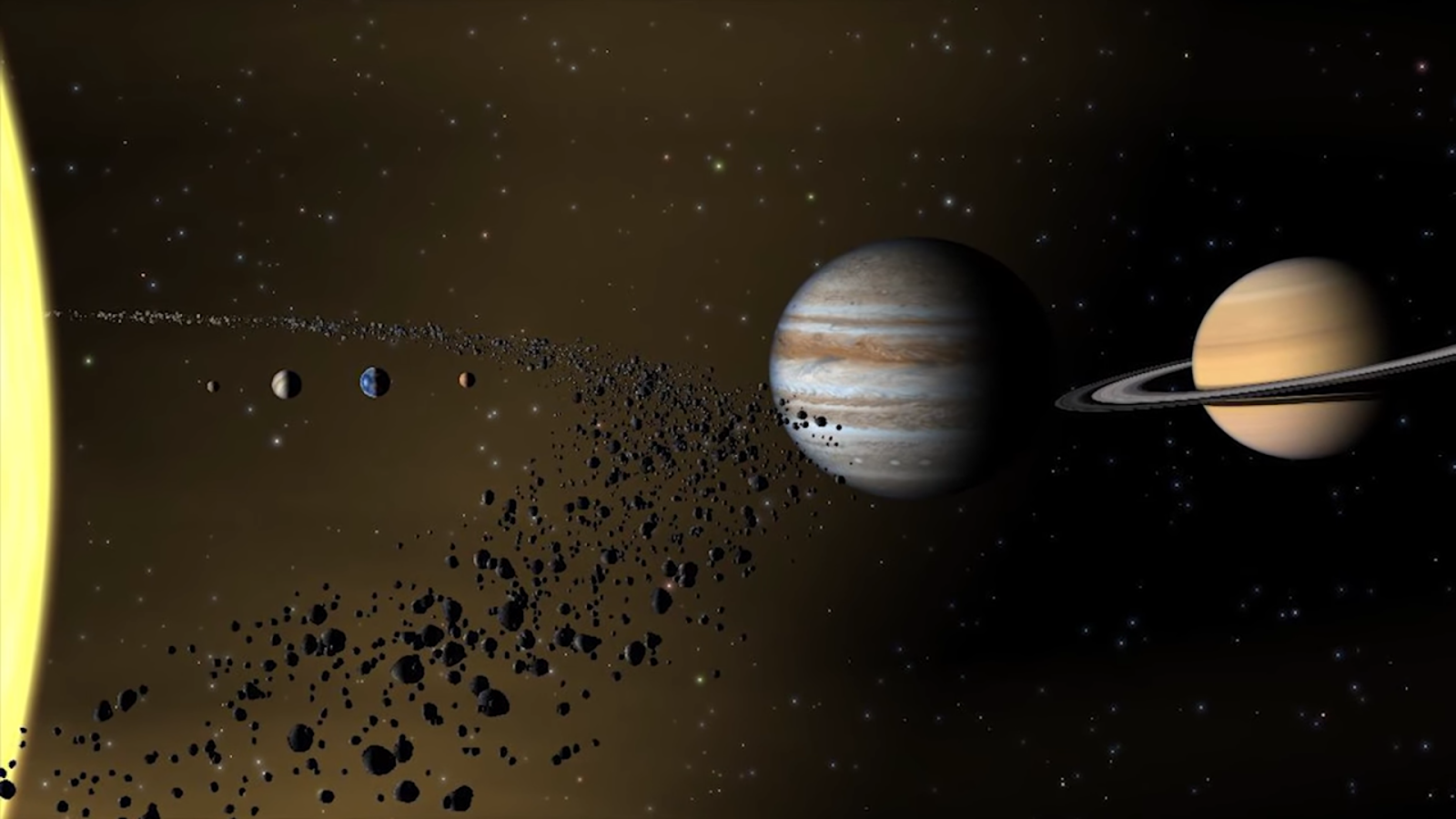 Why Planet Formation Failed In Asteroid Belt? - Space ...