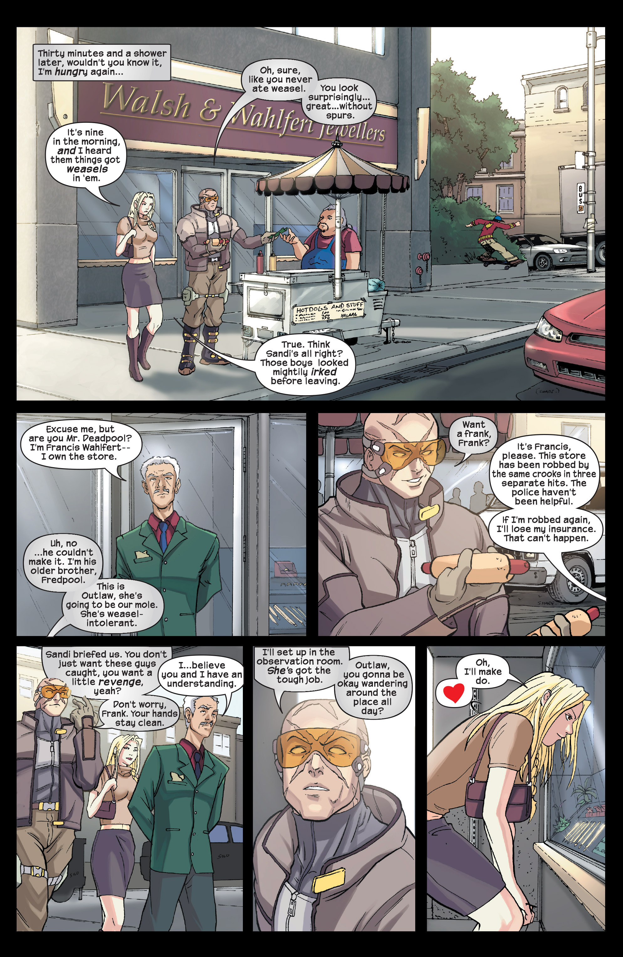 Read online Agent X comic -  Issue #3 - 15