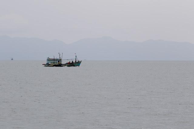 Navigazione verso l'Angthong national park