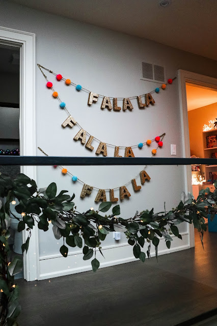 Canadian Tire Christmas Decoration Inspiration Gold Garland Words