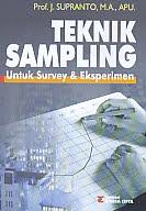 Judul Buku:Teknik Sampling – Untuk Survey & Eksperimen