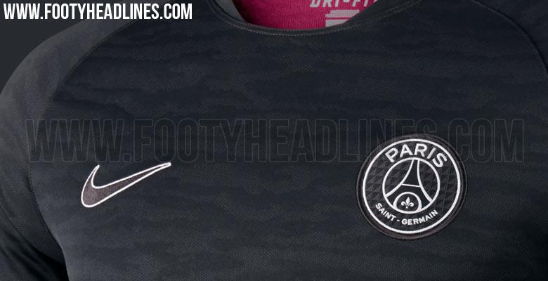 cc48eb2c5 The new Nike PSG 2015-2016 Training and Pre-Match Shirts boast modern  designs