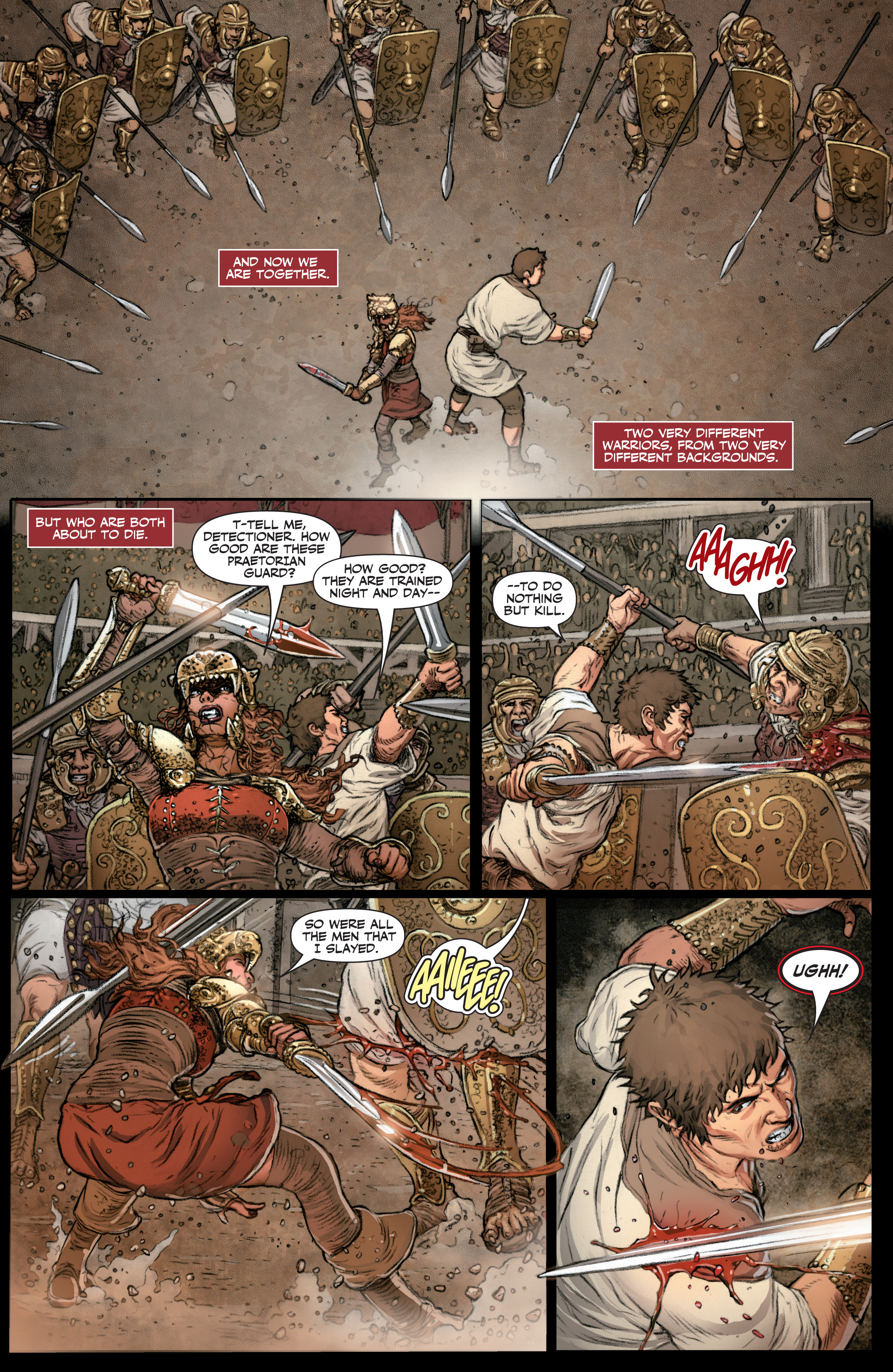 Read online Britannia: We Who Are About To Die comic -  Issue #3 - 8