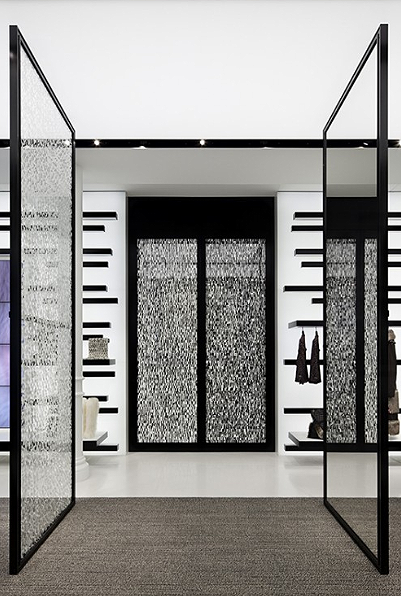 Above: Robert Greeneu0027s Black And White Abstract Works Are The Perfect  Compliment To Architect Peter Marinou0027s Chanel Soho And Los Angeles Boutiques
