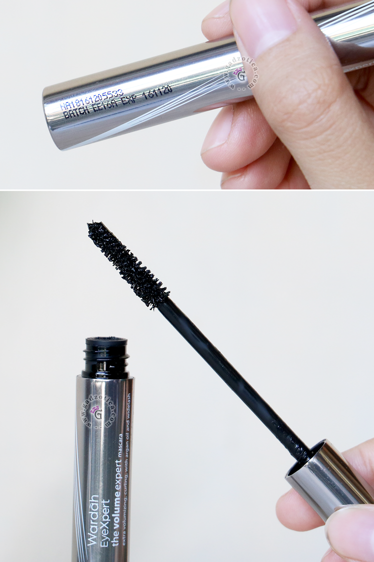 Review Wardah Volume Expert Mascara