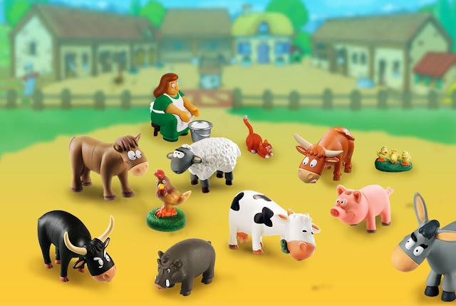 Wesoła farma, czyli gromadka słodkich zwierzaków - nowa kolekcja De Agostini