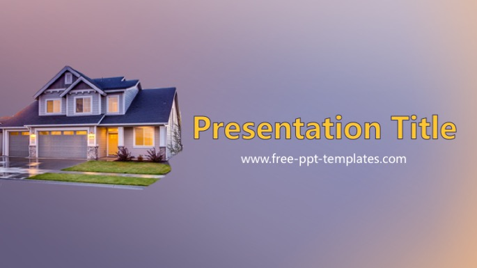 House Powerpoint Template