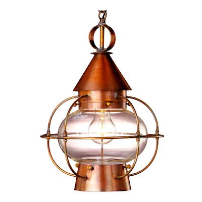 The Cape Cod Onion Lantern is a nautical style lantern