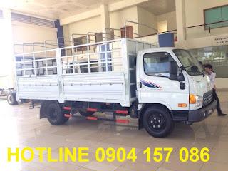 Xe tải thaco hyundai 6.5 tấn Hải Phòng