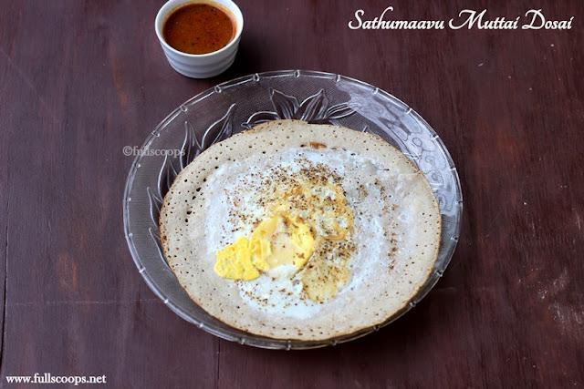 Sathumaavu Muttai Dosai