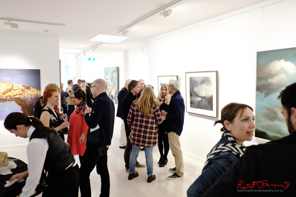 Group show at the launch of the new Wagner Contemporary art space