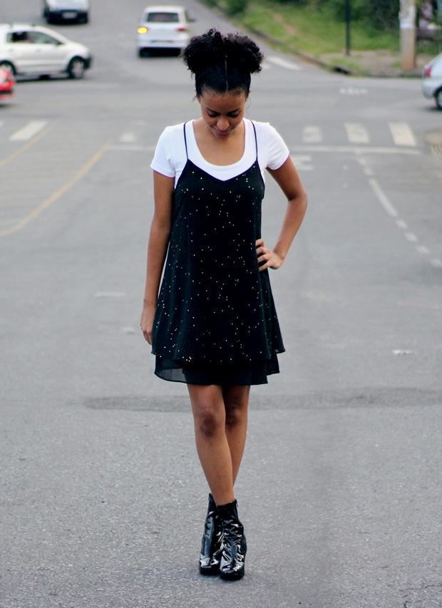 como usar vestido com camisa