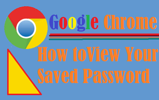 Google Chrome-How to Save Password and View Saved Password