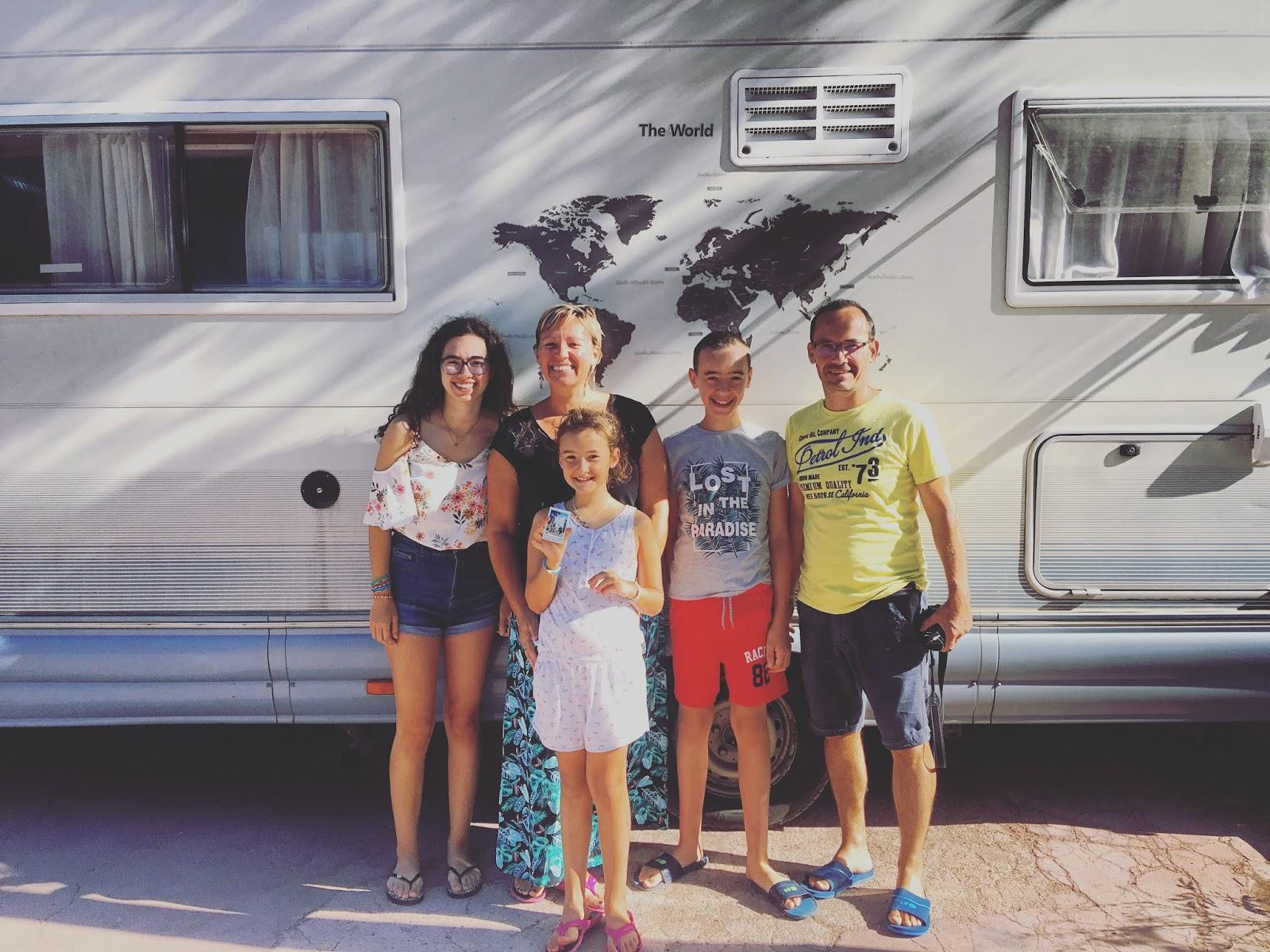 Famille AventurACinq (FR), TR