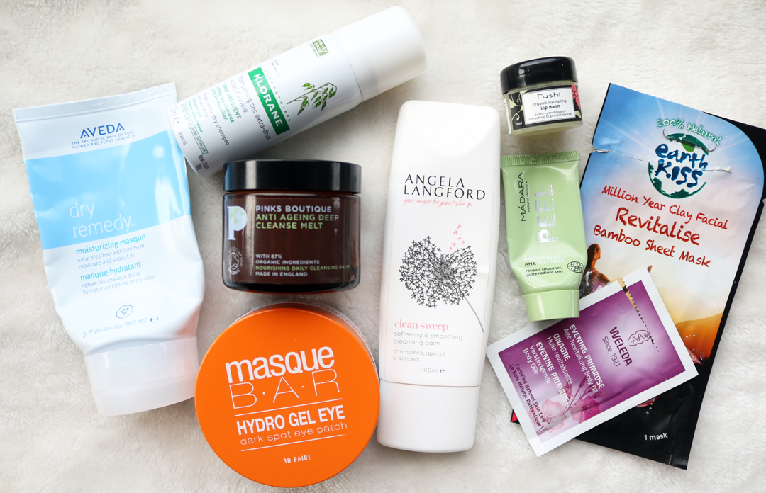 April Empties: Products I've Used Up