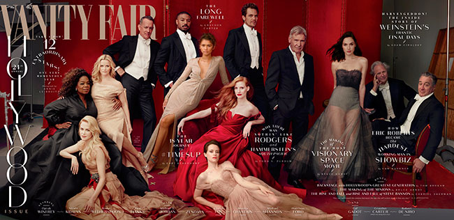 Vanity Fair Hollywood Issue 2018 Cover