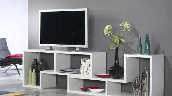 Mueble de durlock para televisor