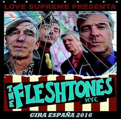 Fleshtones Gira España 2016