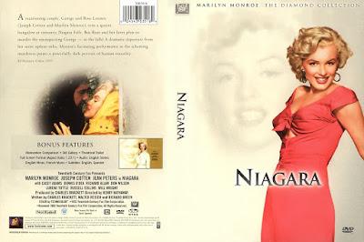 Carátula dvd: Niágara / Marilyn Monroe