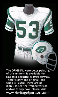 New York Jets 1968 uniform