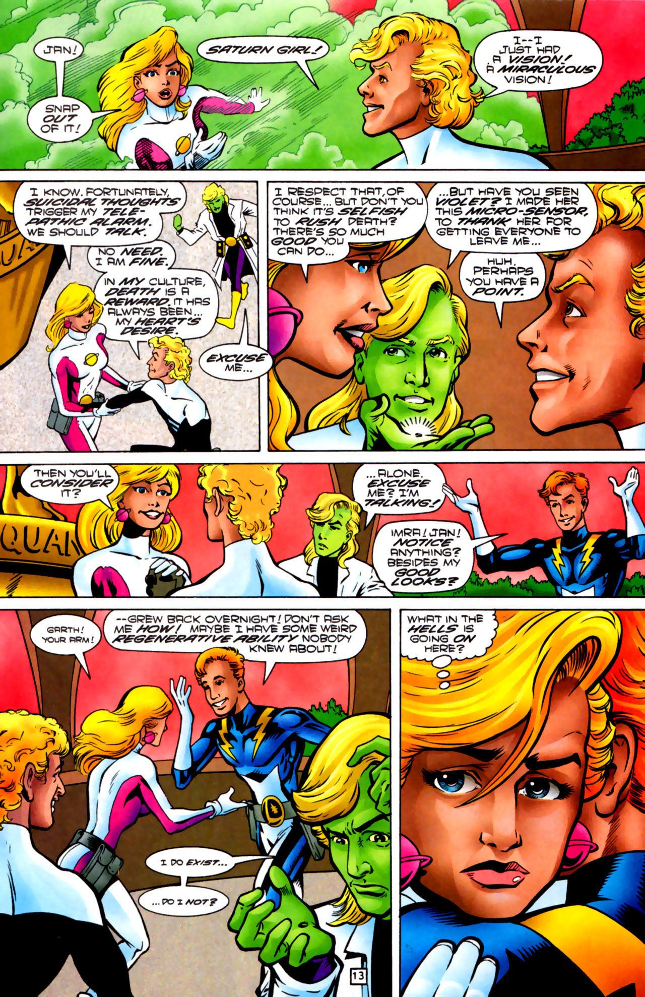Legion of Super-Heroes (1989) 83 Page 12