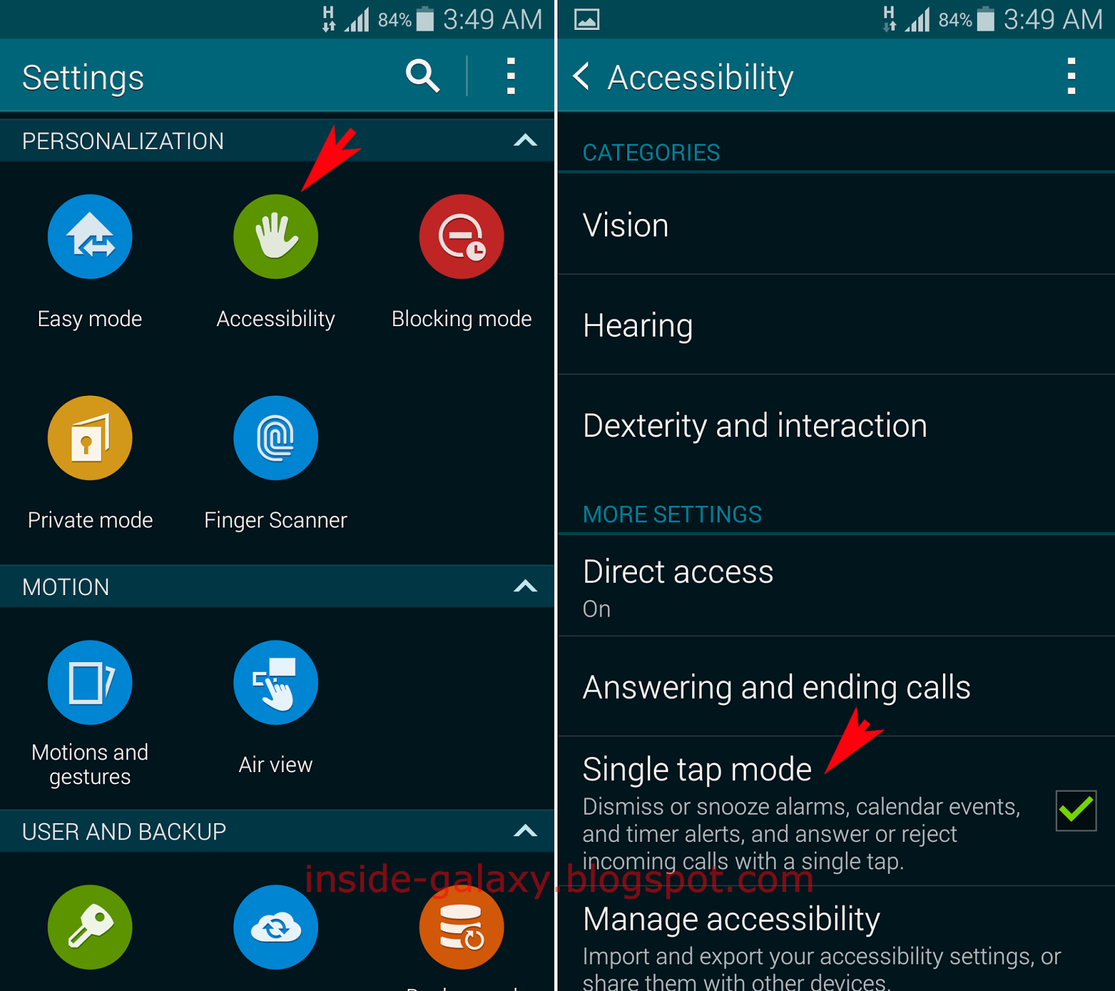 Inside Galaxy: Samsung Galaxy S5: How To Enable And Use