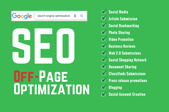 Search engine Optimization  - Off Page Optimization
