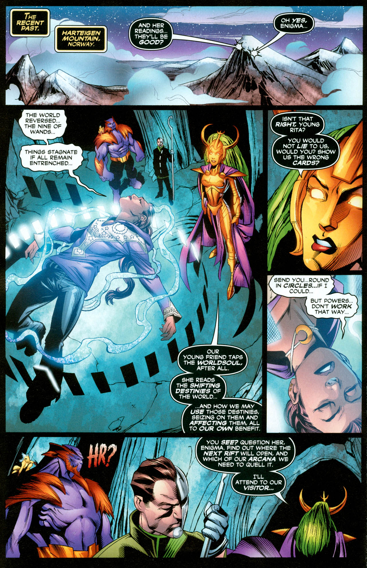 Read online Trinity (2008) comic -  Issue #31 - 6