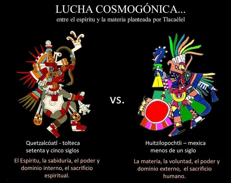 . Quetzalcóatl vs. Huichilopoztli. Toltecápsulas 81