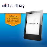 czytnik kindle touch 7 wifi dla ciebie promocja Citibank karta Citi Simlicity