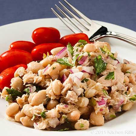 The Best White Bean Tuna Salad