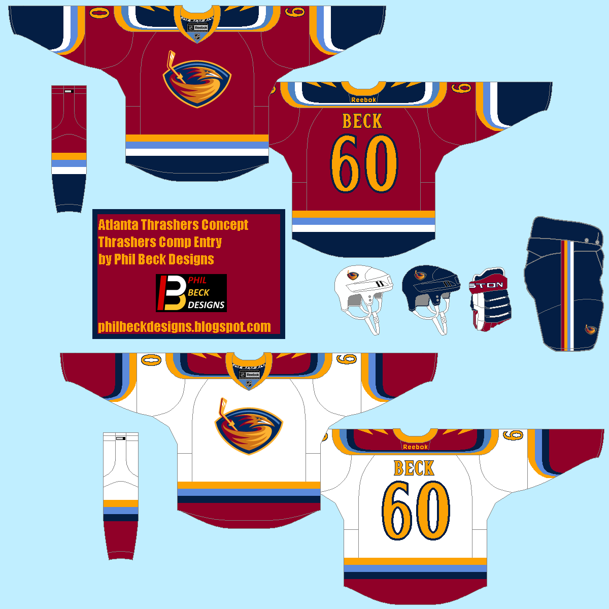 HockeyJerseyConcepts: Friday: Exhibition Season
