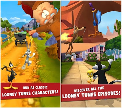 game looney tunes dash