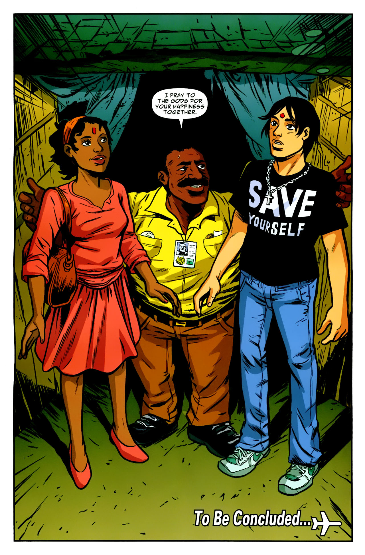 Read online American Virgin comic -  Issue #18 - 23